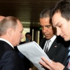 Vladimir Putin had brief meetings with a number of foreign leaders